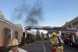 Firefighters quickly contained a fire at a Stamford funeral home caused by a malfunctioning crematory chamber at 6:43 p.m. Monday, April 6, 2020. There was only smoke and water damage at Cognetta's Funeral Home at 104 Mrytle Ave.