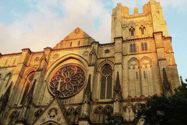 The Cathedral Church of St. John the Divine in New York City.