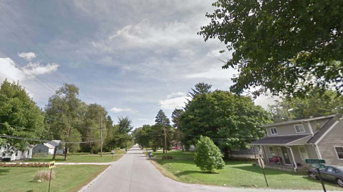 A Google Maps image showing Bruce Road in Lockport Township, Ill., near the home of Patrick Jesernik and Cheryl Schriefer.