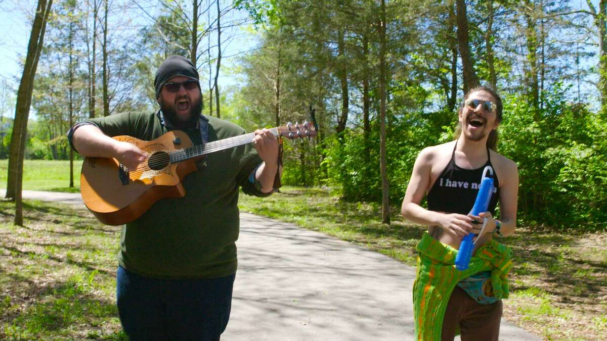 Two New Canaan natives interviewed musicians around the country for their documentary series.