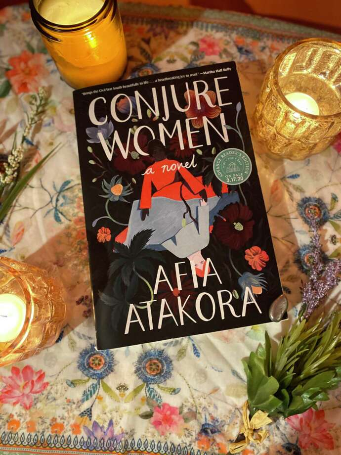"""Conjure Women"" is Afia Atakora's debut novel. Photo: TinaMarie Craven / Hearst Connecticut Media /"