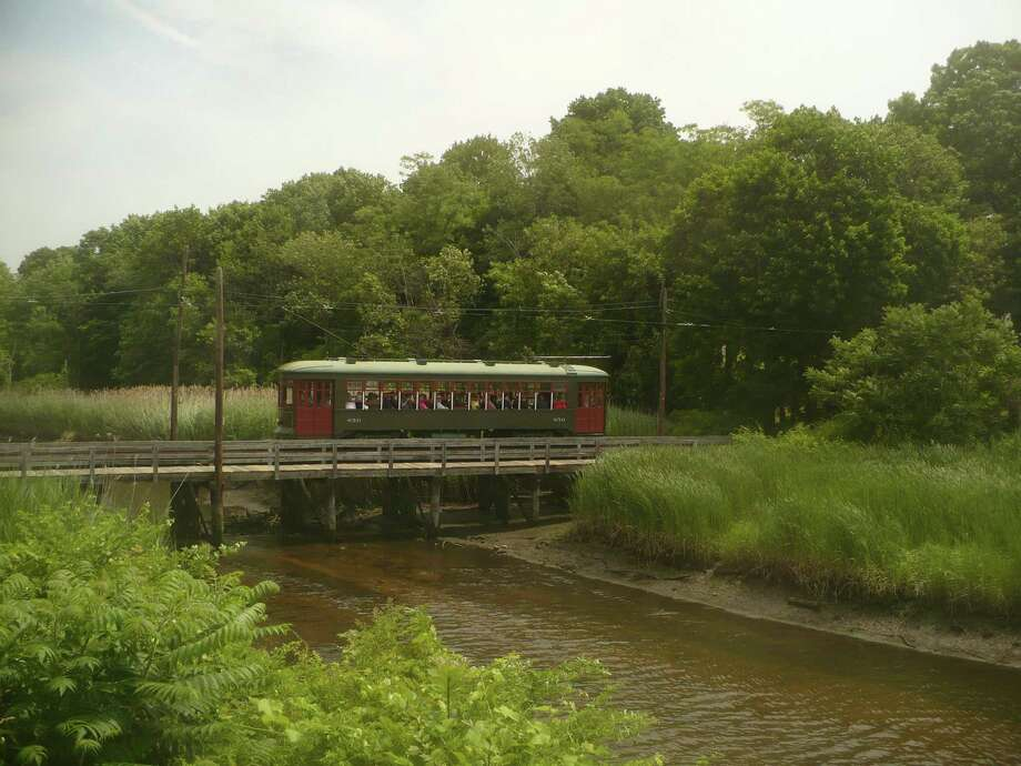 """The Shore Line Trolley Museum is launching its """"Time To Get Creative"""" program. This program is free of charge and is available to our entire community. Photo: Shore Line Trolley Museum / Contributed Photo"""