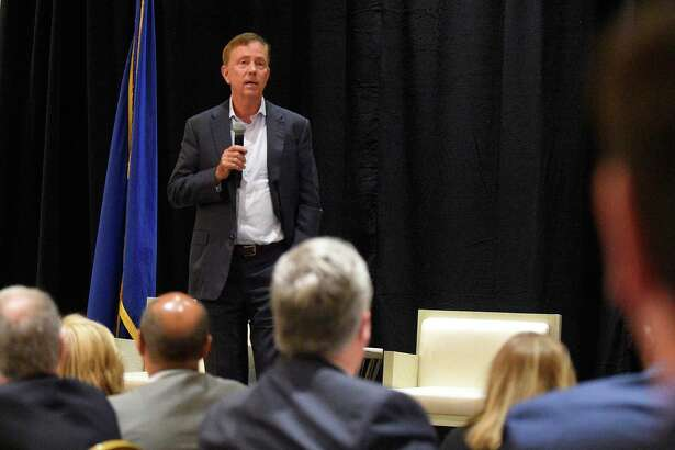 Connecticut Gov. Ned Lamont in June 2019 during the annual meeting of the Business Council of Fairfield County in Stamford, Conn.