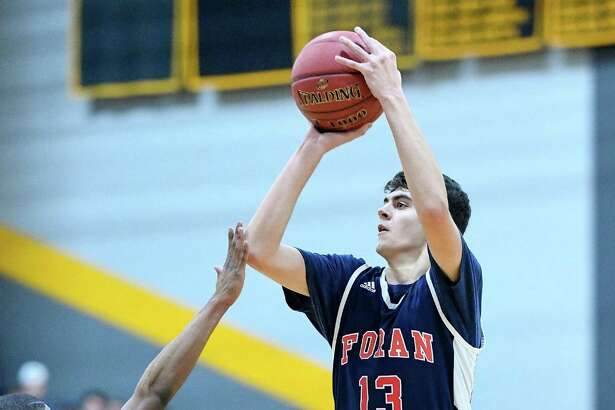 John Shannon will captain the Foran boys basketball team this season. The Lions open with a visit to Lyman Hall in Wallingford tonight at 7. They will be home to Weston on Saturday at 1:30.