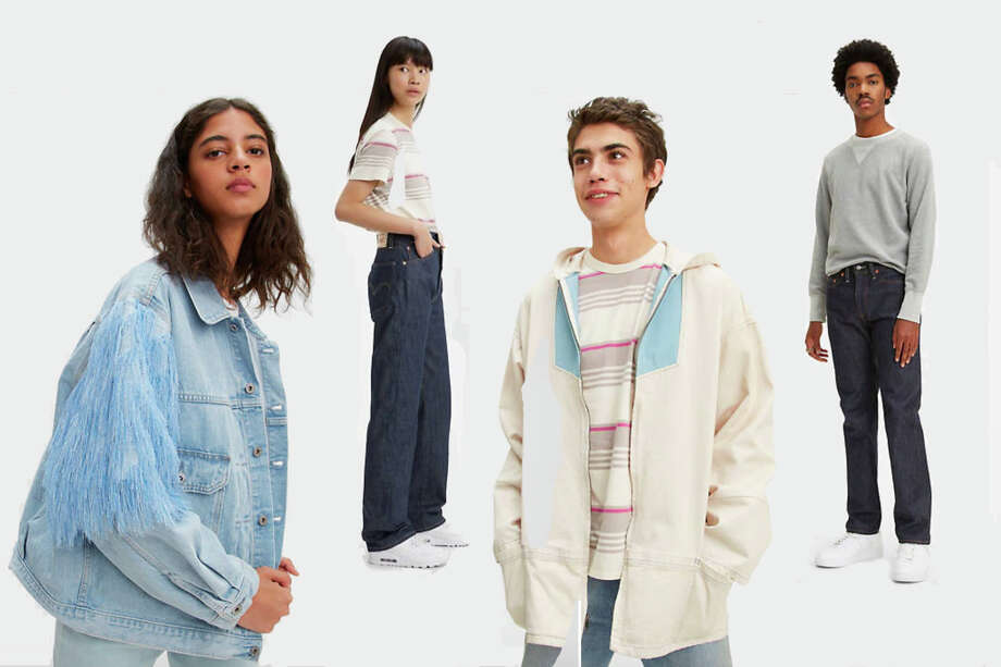 Levi's entire site is 40% off with the code SILVER40. Photo: Levi's/Hearst Newspapers