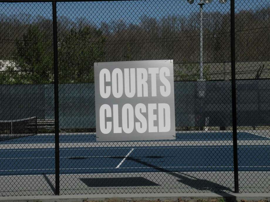 Wilton officials are working on plans to reopen the town's tennis and fields. They are also working on a summer camp program. Photo: Jeannette Ross / Hearst Connecticut Media / Wilton Bulletin