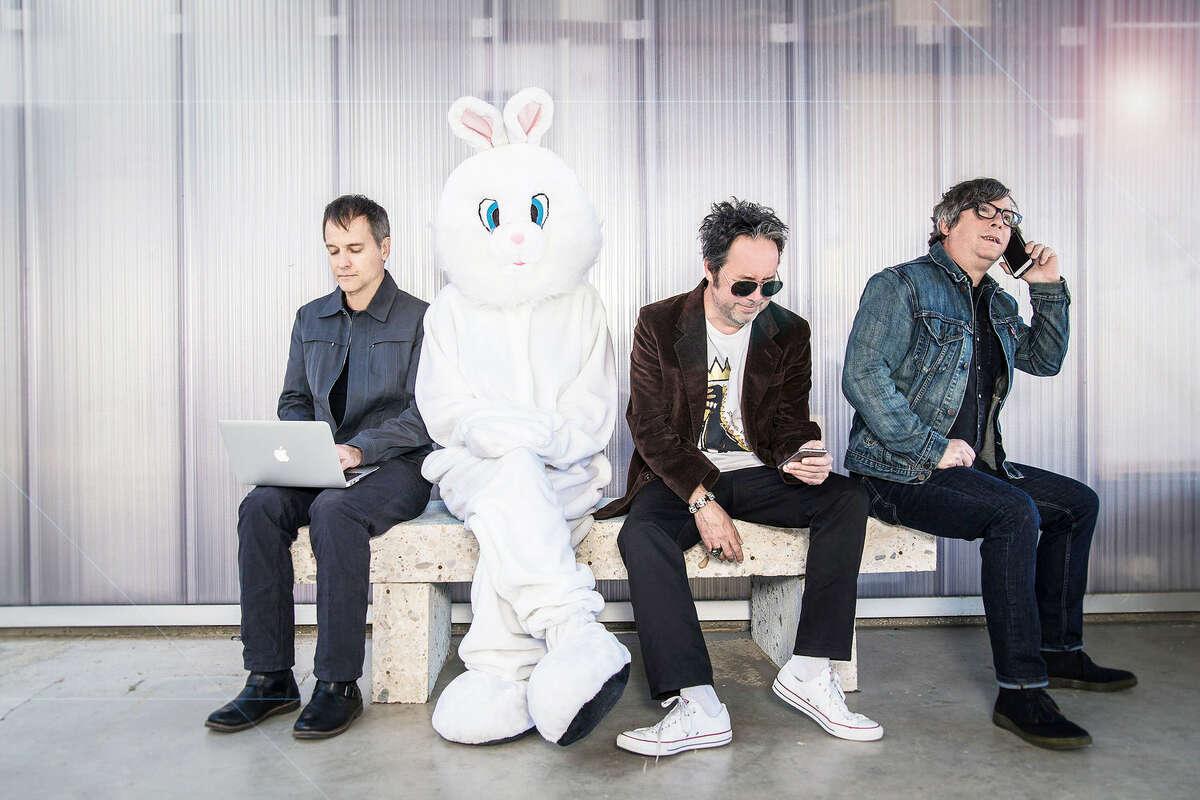 Left to right: Joey Shuffield, Miles Zuñiga & Tony Scalzo.