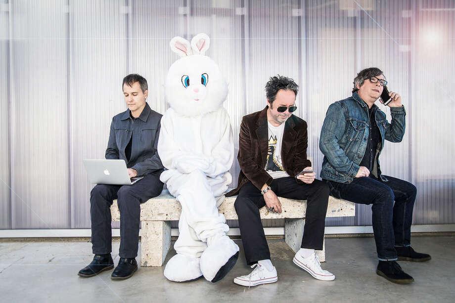 Left to right: Joey Shuffield, Miles Zuñiga & Tony Scalzo. Photo: Sandra Dahdah