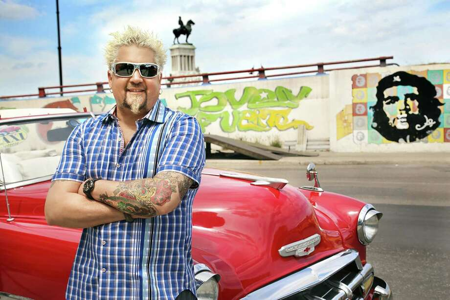 """Guy Fieri visits Havana in an episode of """"Diners, Drive-Ins and Dives."""" Photo: Citizen Pictures / Citizen Pictures"""