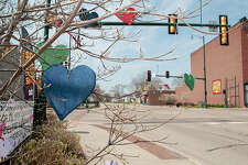 Businesses show their support for those who are following the stay-home order during the COVID-19 pandemic. Hand-drawn signs, messages, cut-out hearts and messages of inspiration can be seen all over Jacksonville. There are also safety measures for people and notes of support from service clubs.