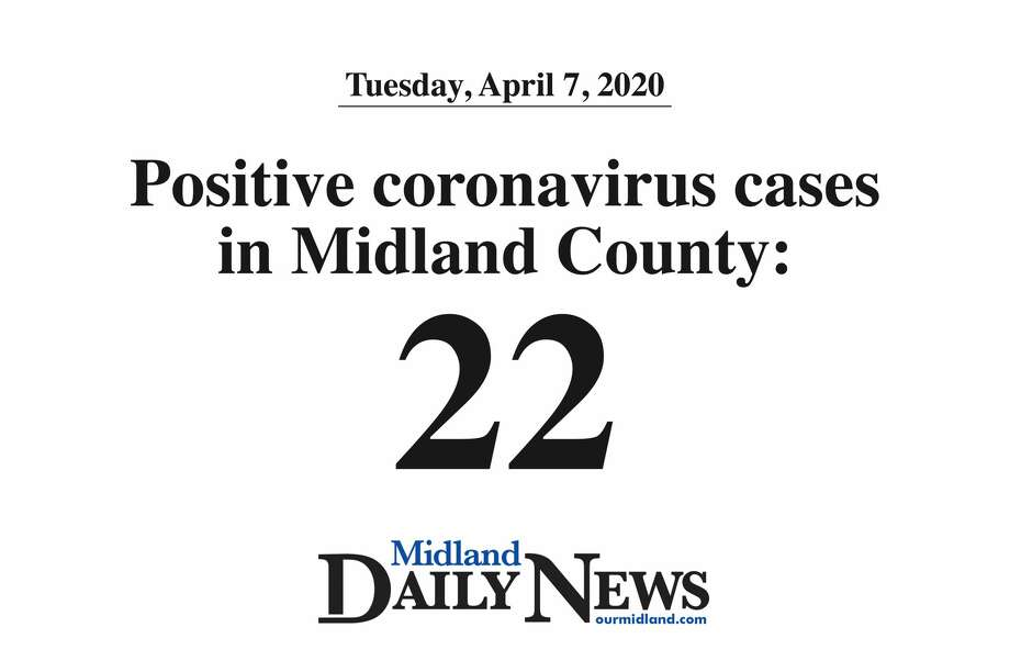 Positive coronavirus cases in Midland County: 22 Photo: (Daily News Graphic)