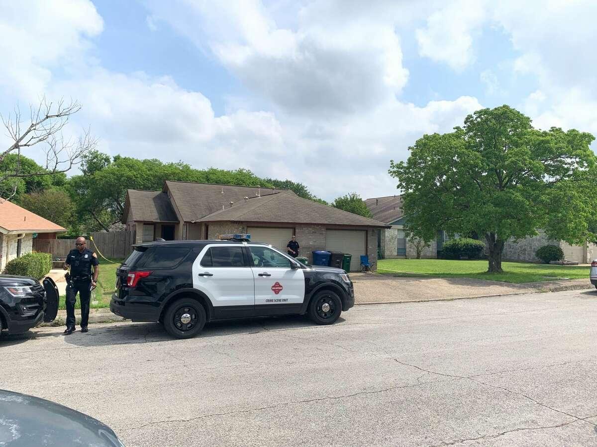 San Antonio police are investigating a suspicious death at a Northeast Side home.