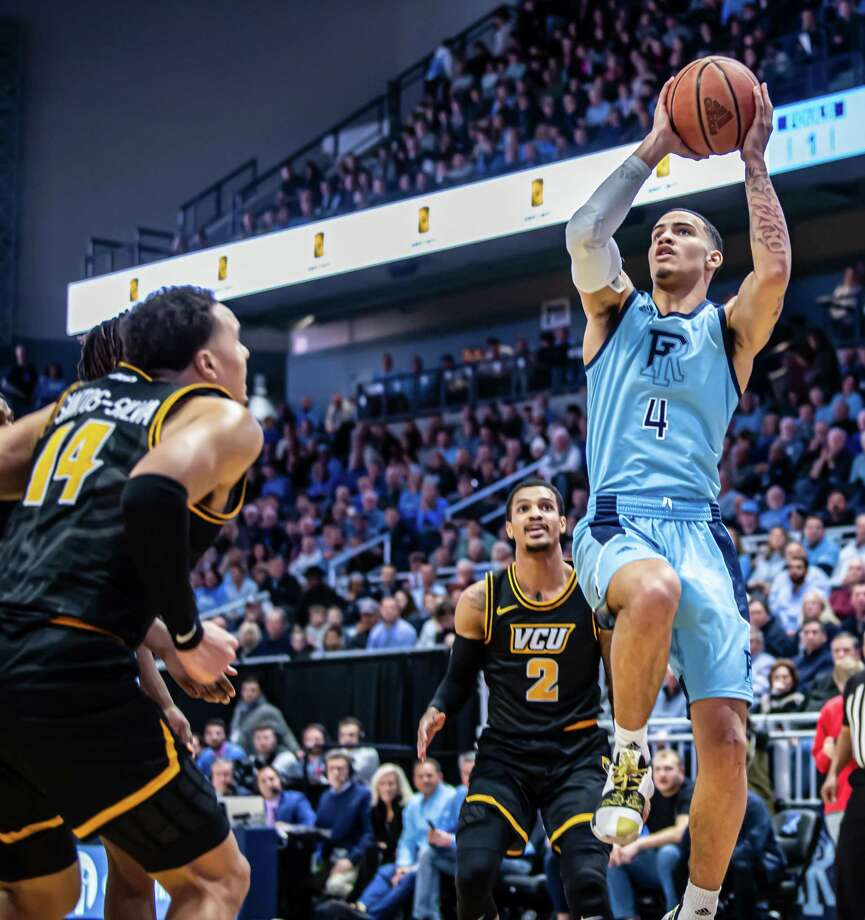 Tyrese Martin was recruited by Dan Hurley to go to URI, and then again to transfer to UConn. Photo: Courtesy Of URI Athletics. / © 2020 - PhotoByFriday - Alan Hubbard