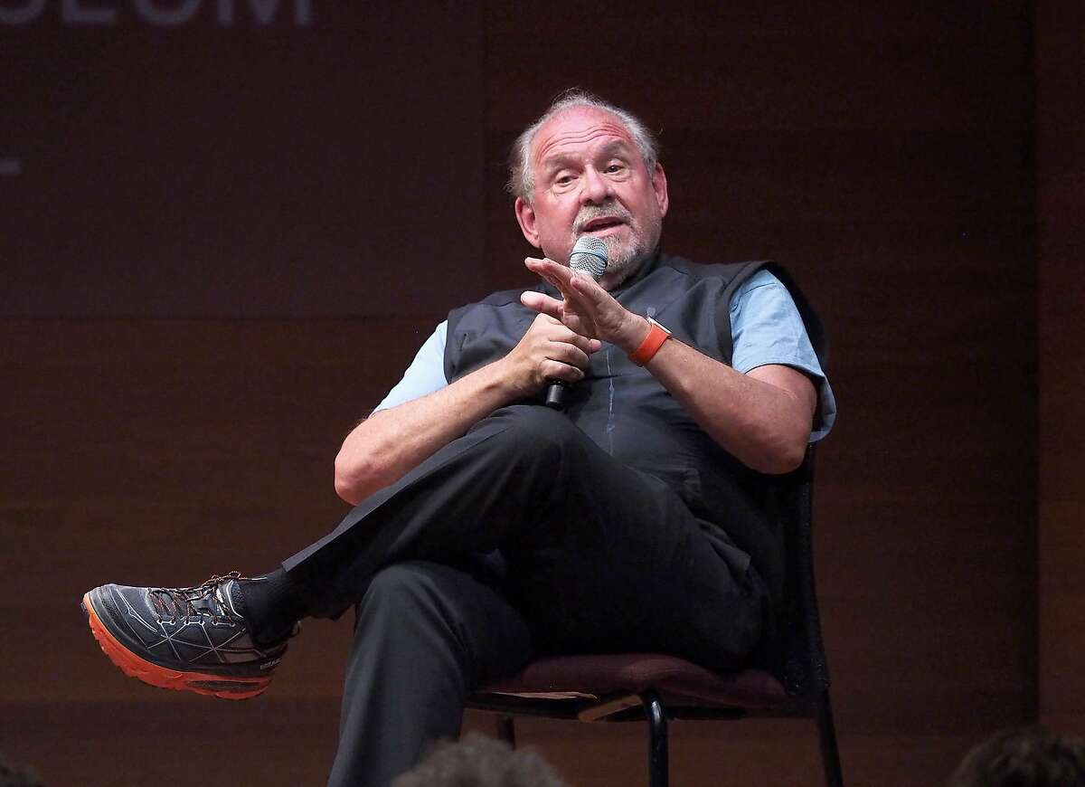"""Larry Brilliant speaks onstage at the HBO Documentary """"Open Your Eyes"""" Special Screening At The Rubin Museum at Rubin Museum of Art on July 13, 2016 in New York City."""