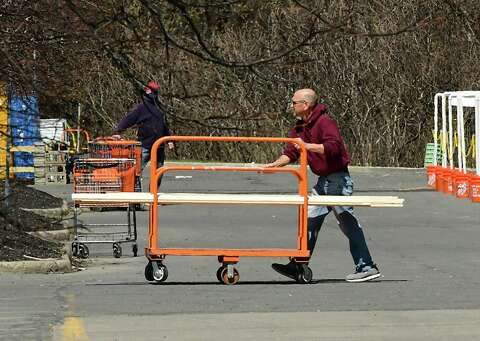 The Streets Are Empty But Home Depot Isn T Stamfordadvocate