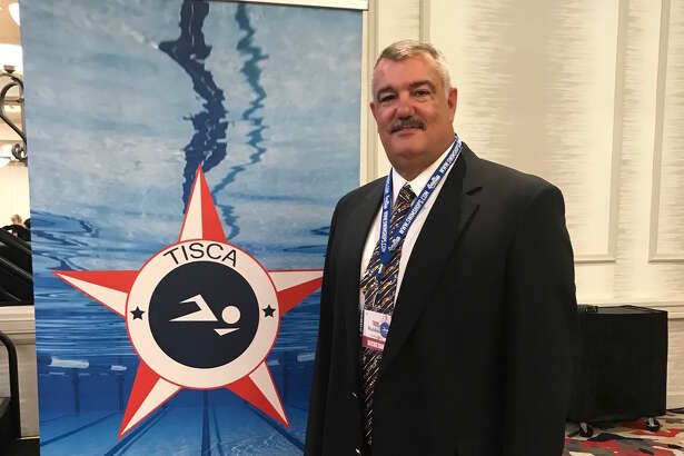 Andrews head swimming & diving coach Mike Waldmann has earned the TISCA Theron Pickle Lifetime Achievement Award.