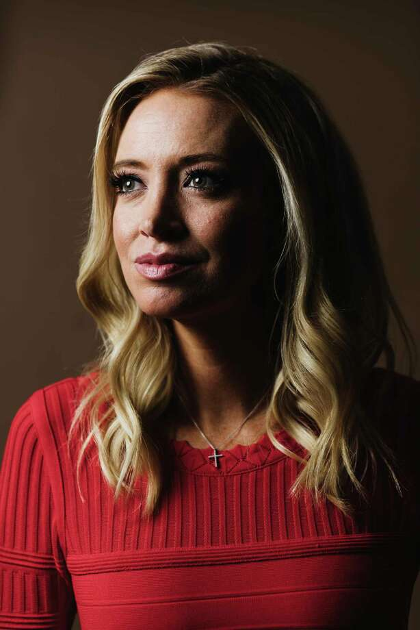 "FILE -- Kayleigh McEnany, then a Trump campagn spokeswoman, in Arlington, Va., on July 11, 2019. Stephanie Grisham, the White House press secretary, is rejoining the staff of Melania Trump, the first lady, and McEnany will replace her a€"" the latest shake-up in a communications office that has seen almost constant turnover under President Donald Trump. (Lexey Swall/The New York Times) Photo: LEXEY SWALL / NYTNS"