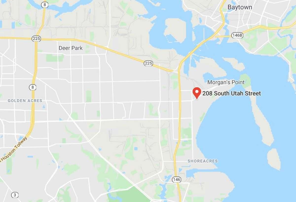Google Maps view of 208 South Utah Street in La Porte.
