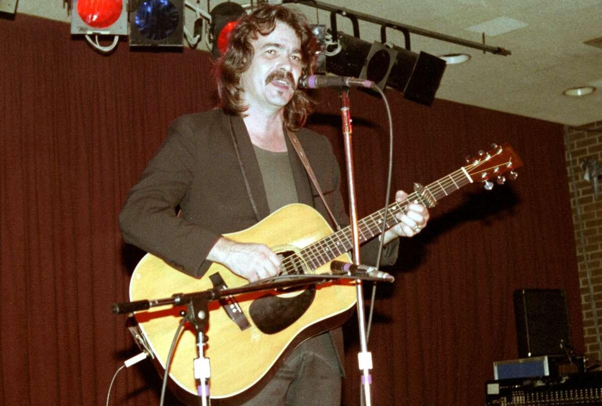 John Prine performs at the Old Waldorf on November 3, 1981 in San Francisco California.