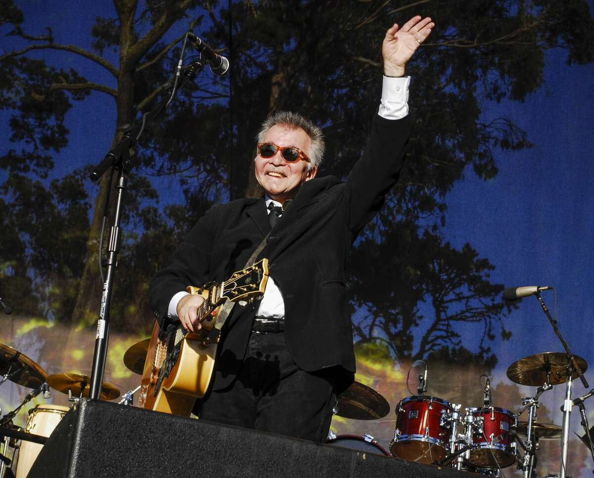 John Prine performs on stage at Hardly Strictly Bluegrass festival in Golden Gate Park, San Francisco, California on 2nd October, 2009.