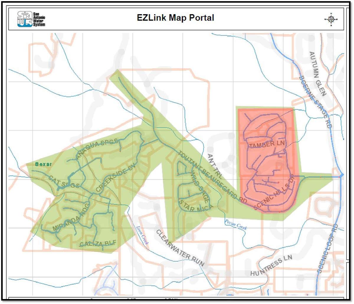 Water main break causes boil water order for areas of San Antonio.
