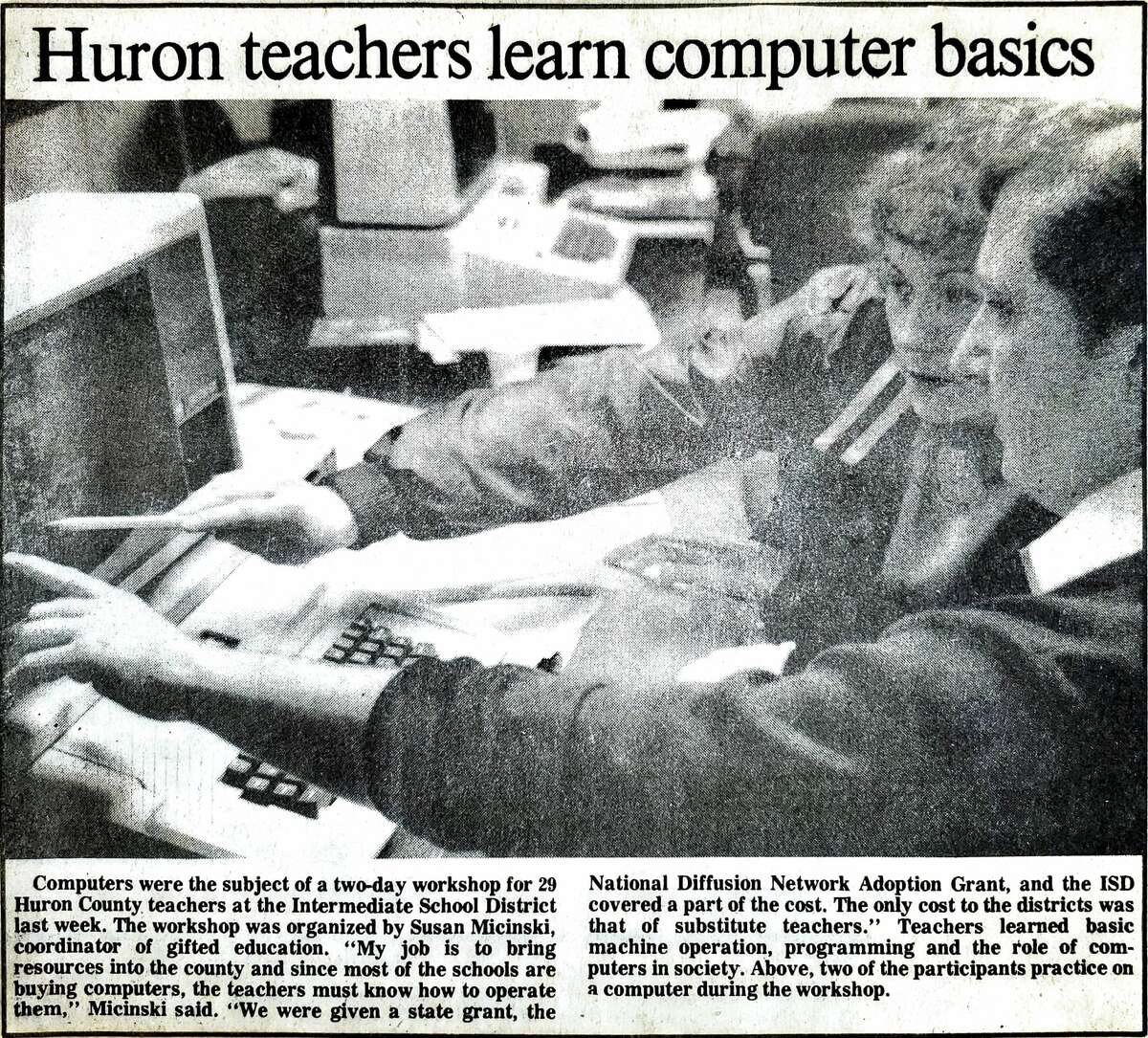 For this week's Tribune Throwback we take a look in the archives from April 1983.