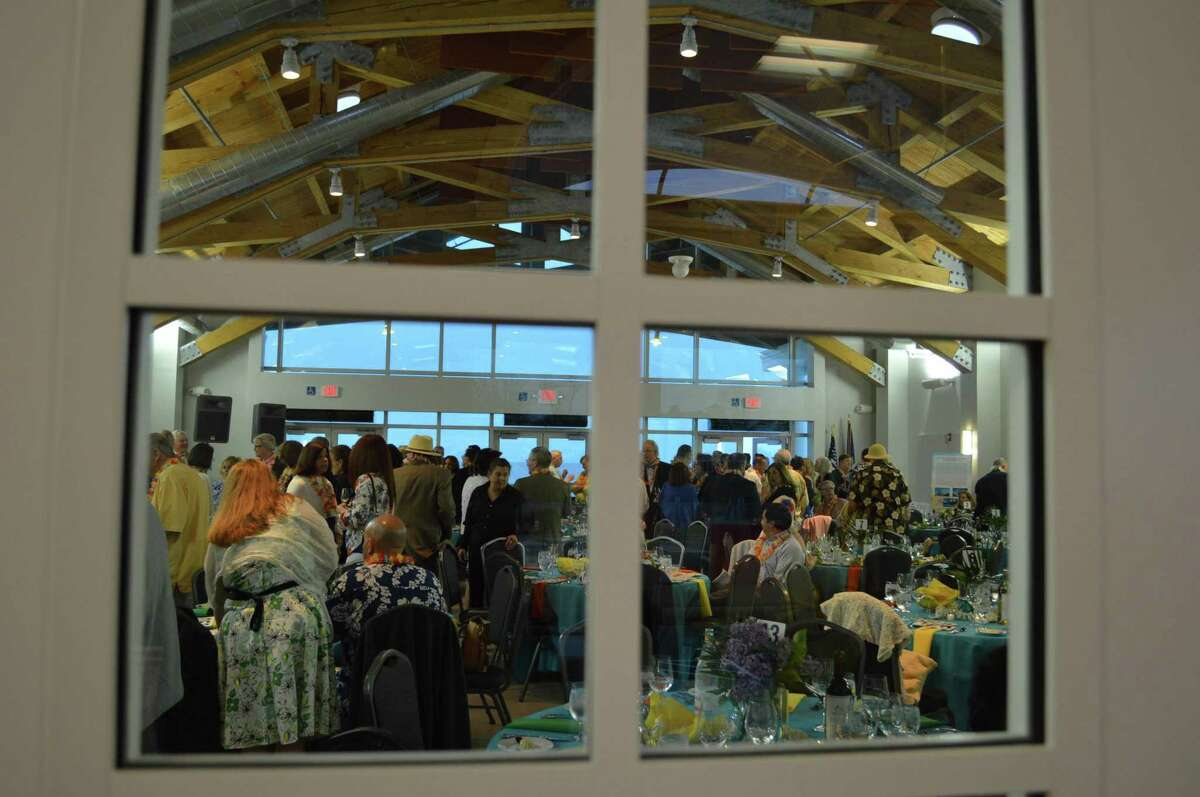 A view inside the newly renovated building at Operation Hope's 16th annual