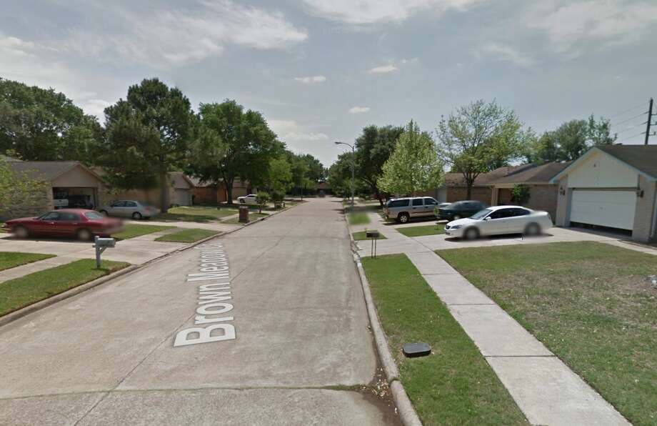 The 4100 block of Brown Meadow Court is seen on Google Maps Street View in April 2011. Photo: Google Maps