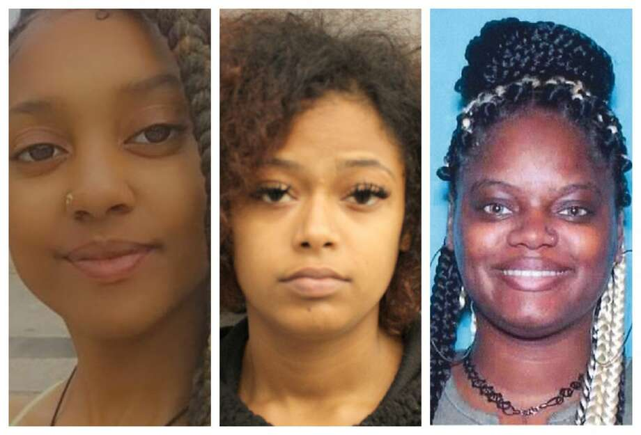 Alexis Gore, 22, Khalisah Smith, 18, and Shapree Monique Stoneham, 29, are all wanted for questioning in the shooting death of a 5-year-old boy killed while making home videos with his family March 31, 2020. Anyone with information is urged to call the Houston Police Department Homicide Division at 713-308-3600. Photo: Houston Police Department