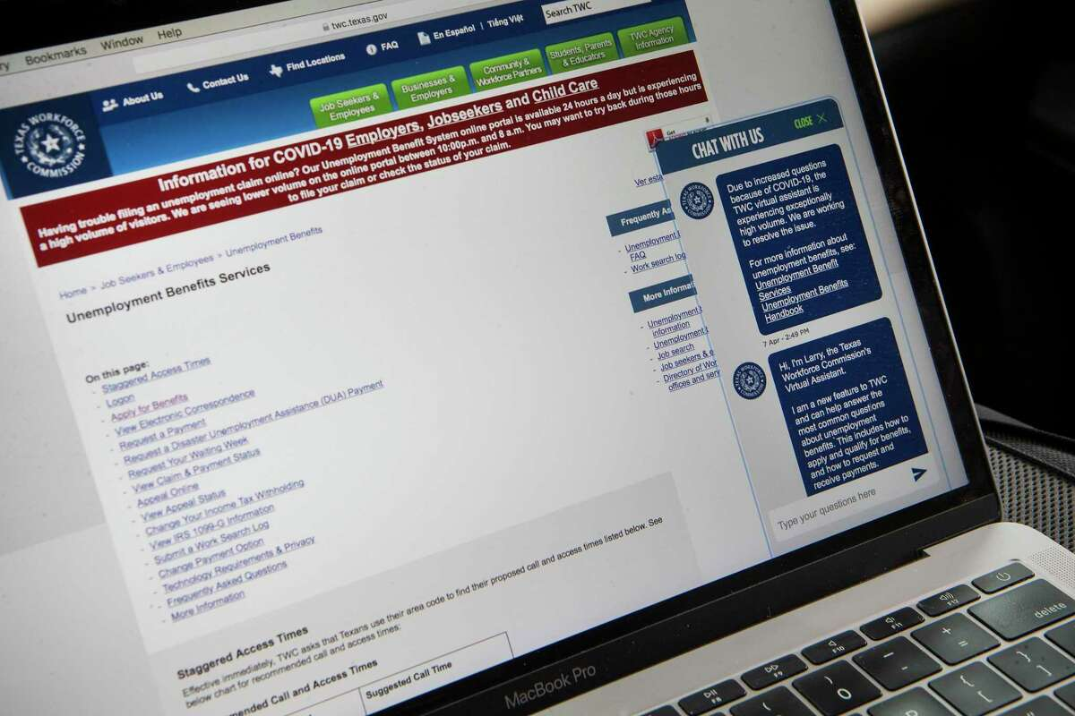 First time claims for unemployment benefits rose in Texas last week.