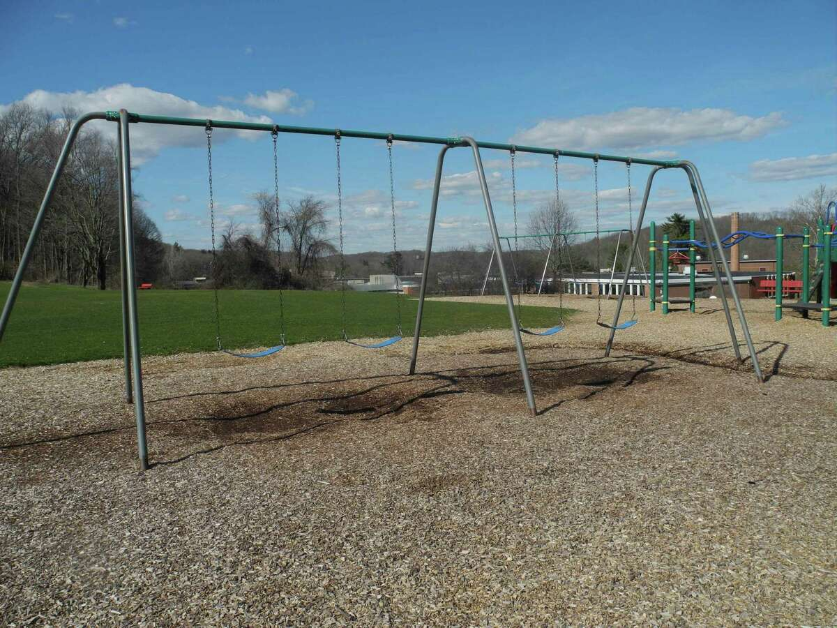 Empty swings at Cider Mill School will stay that way when school reopens as the COVID-19 pandemic continues.