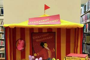 """Kent Memorial Library invites you to help judge the new 2020 dioramas in its """"Peep-O-Rama Contest Gallery."""" An entry from the 2019 contest is seen here."""