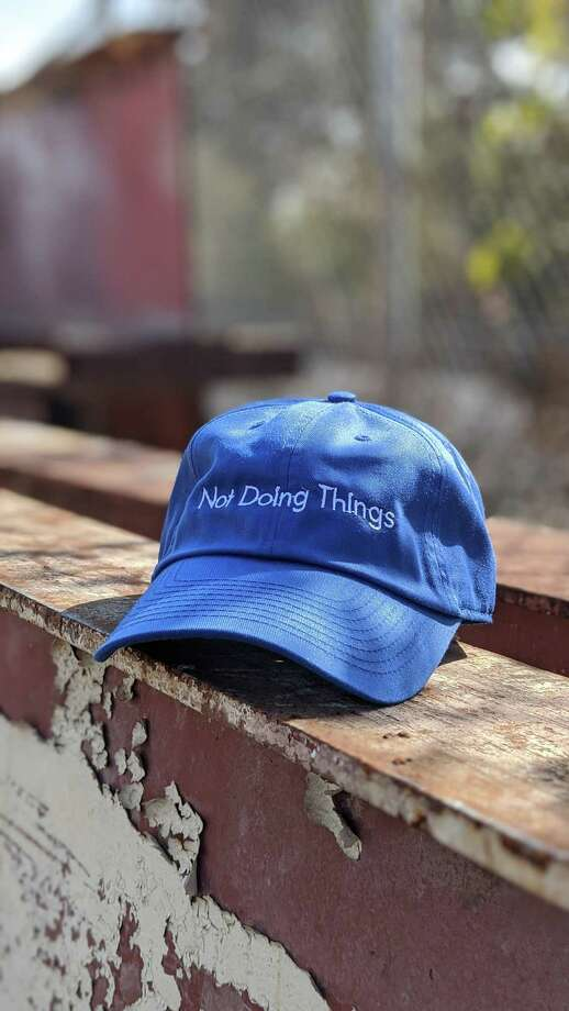 "Emily Brill's ""Not Doing Things"" hats are sold at notdoingthings.com"