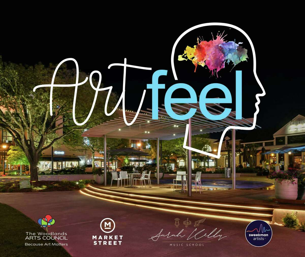"""The """"nights of whimsy"""" known to Woodlands residents as Artfeel may not be happening in-person at Market Street due to the COVID-19 pandemic, however a new online initiative is underway to lift spirits across the township as well as to heal any divides that have emerged in recent months."""