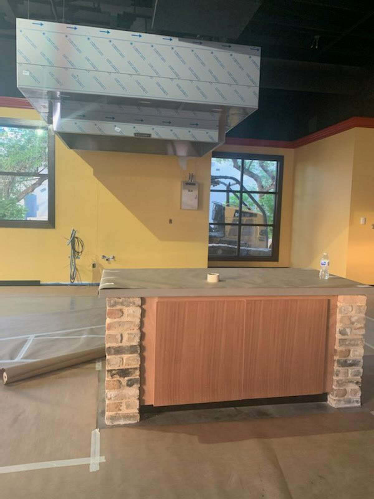 Construction of San Antonio's first Delia's Tamales location is still underway during the COVID-19 pandemic. Spokesman John King said the building, located at 13527 Hausman Pass near Loop 1604, is