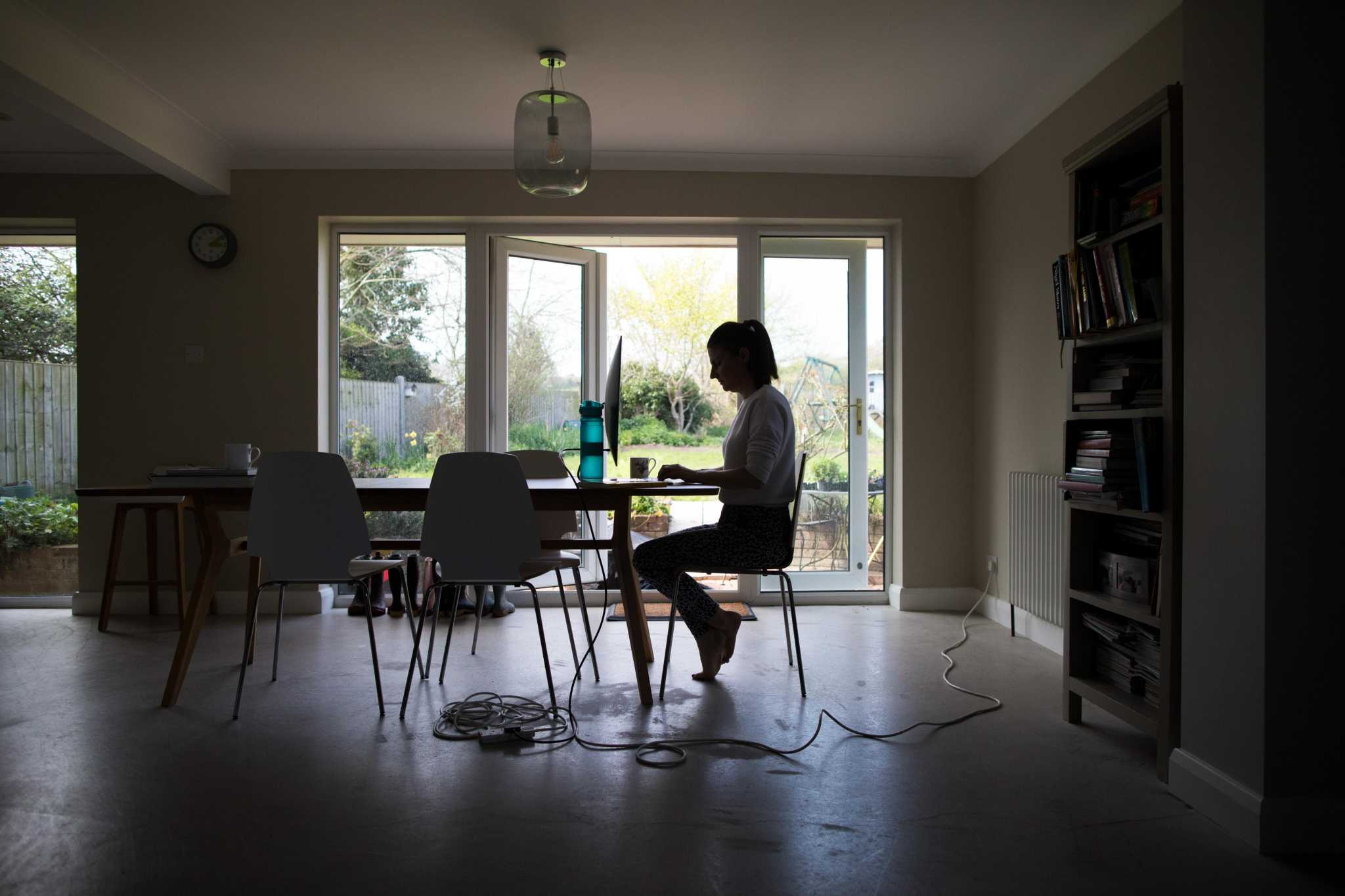Working at home can be tough. Here's a plan
