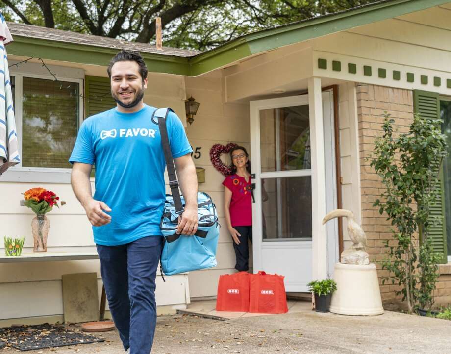 Favor has doubled its delivery coverage statewide, allowing more Texans to have access to H-E-B's senior delivery service, the two companies announced in a joint news release Wednesday. Photo: H-E-B
