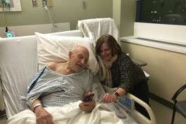 Alexander Stamatien is now in rehabilitation at The Willows nursing home. He is shown here in a previous hospital stay.