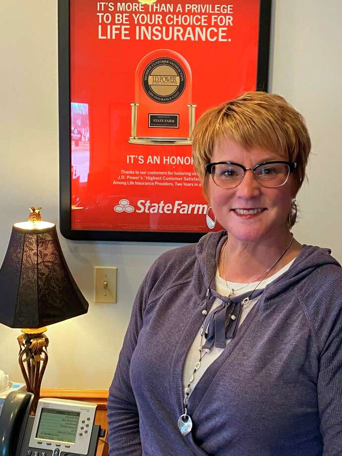 Mary Sturdevant enjoys owning a business in Manistee because she likes the small town feel. (Courtesy photo)