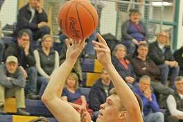 Onekama's Taylor Bennett was named all-state honorable mention for Division 4 boys basketball this season.