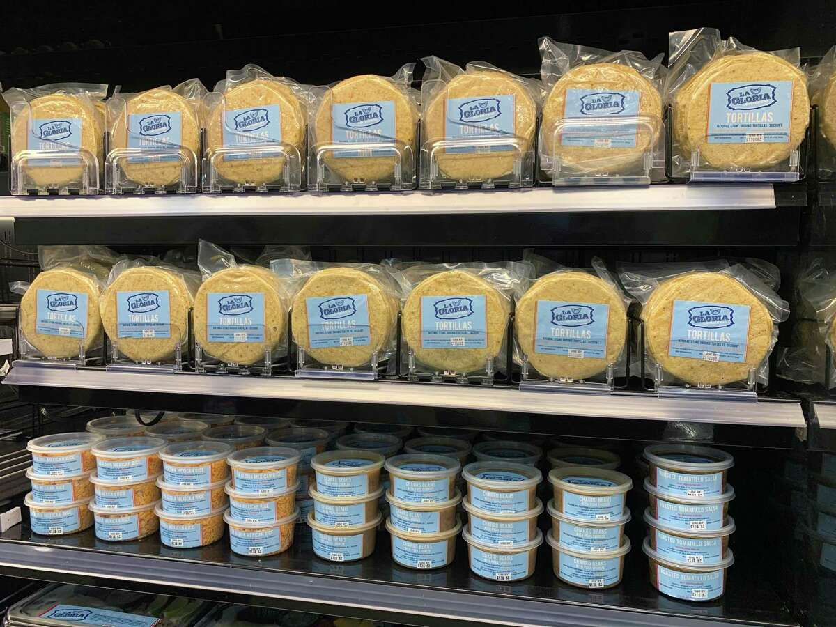 In response to the restaurant industry challenges presented by the coronavirus crisis, grocery giant H-E-B is carrying fresh prepared foods like corn tortillas, rice and beans from chef Johnny Hernandez's San Antonio restaurant La Gloria.