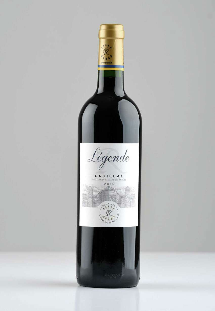 Legende Pauillac cabernet on Friday, Feb. 7, 2020, at the Times Union in Colonie, N.Y. (Will Waldron/Times Union)