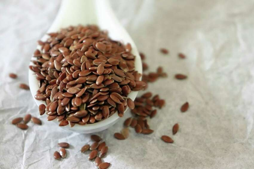 Blending whole flax seeds, like these, or flax meal with water can give you a decent substitute for an egg.