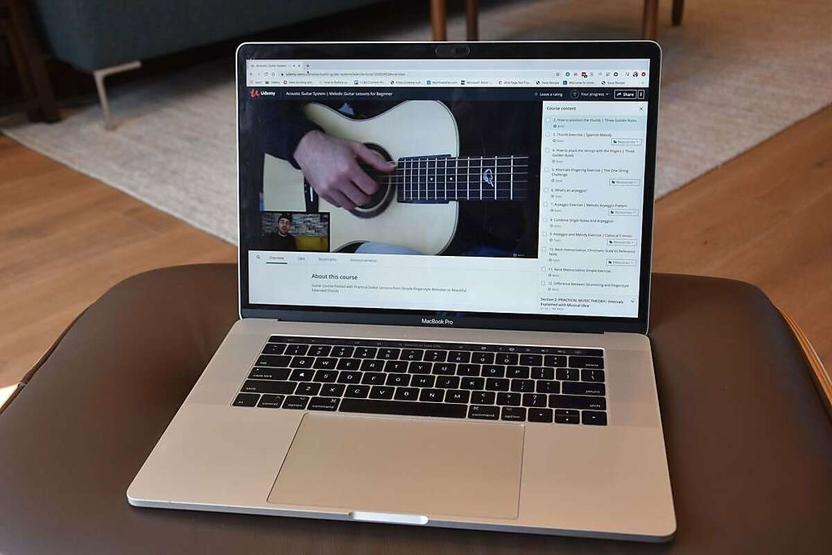Udemy, a leading marketplace for teaching and learning online, has classes that range from complicated business ideas to strumming a guitar.