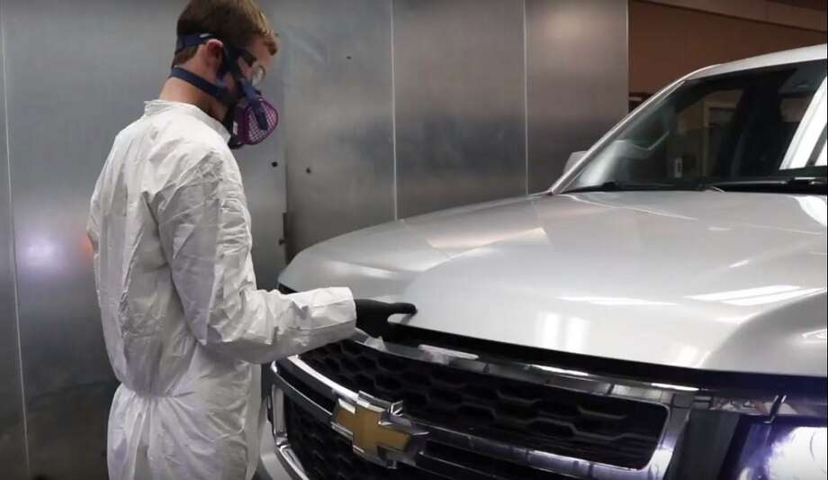 A still from a disinfectant installation video shows how the system is installed in a vehicle. Photo: Courtesy Of Rhino Pro