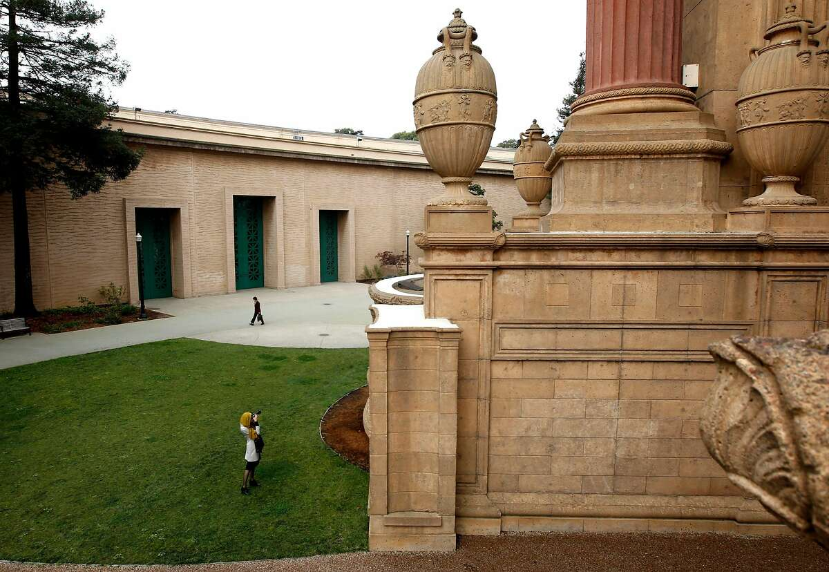 The Palace of Fine Arts in San Francisco, Calif. on Wednesday Oct. 23, 2012. With the Exploratorium moving out of the exhibition hall at the Palace of Fine Arts there is talk of George Lucas' creating a museum to fill the space.