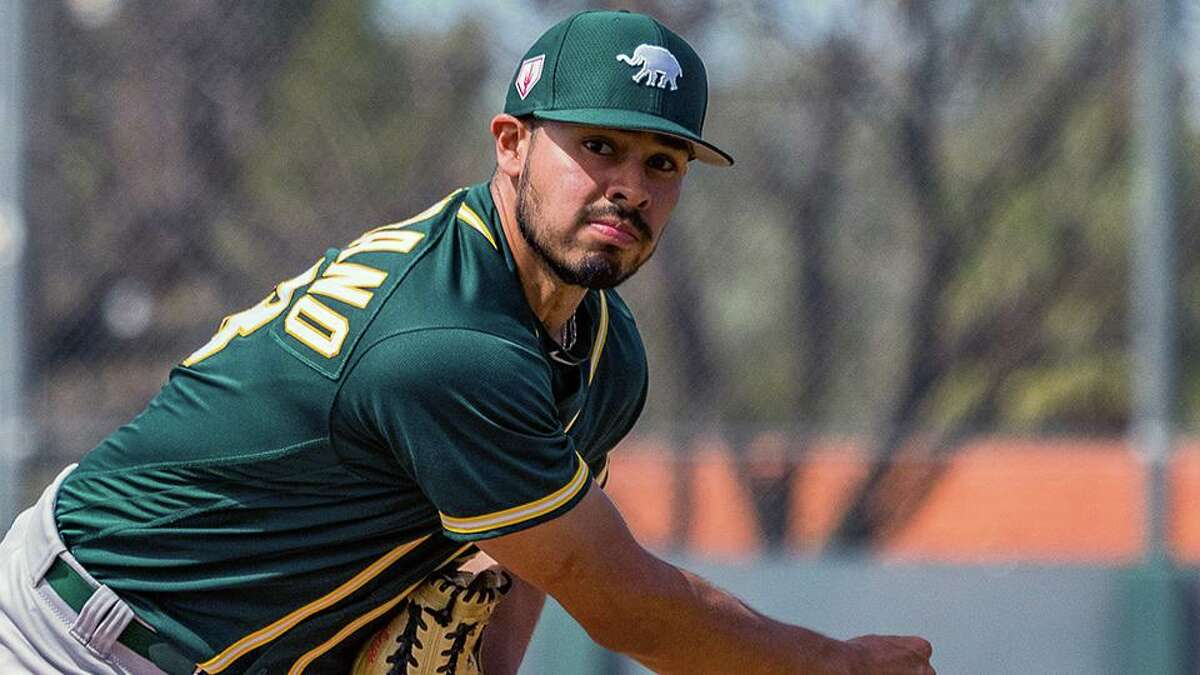 Xavier Altamirano was drafted by the Oakland Athletics in the 27th round of the 2015 MLB draft after playing one season at Oral Roberts.