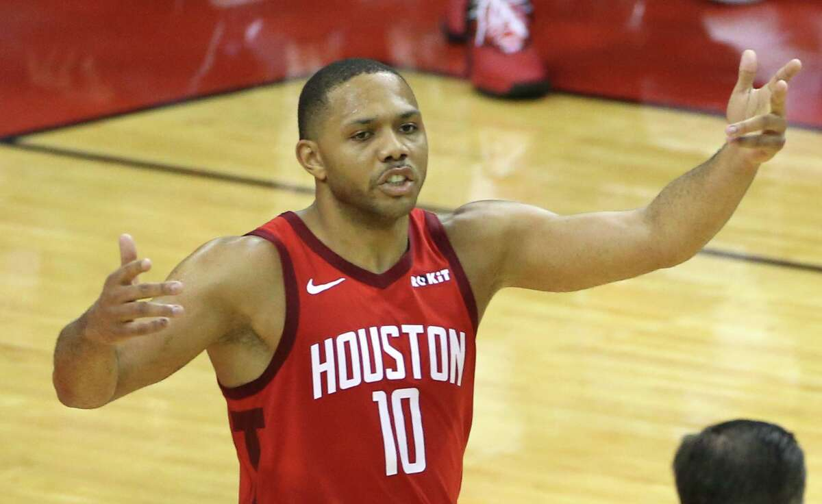 Before the NBA's shutdown, injuries had already made this one of the most challenging seasons in the 12-year career of Rockets guard Eric Gordon. But he did produce a 50-point game against the Jazz.