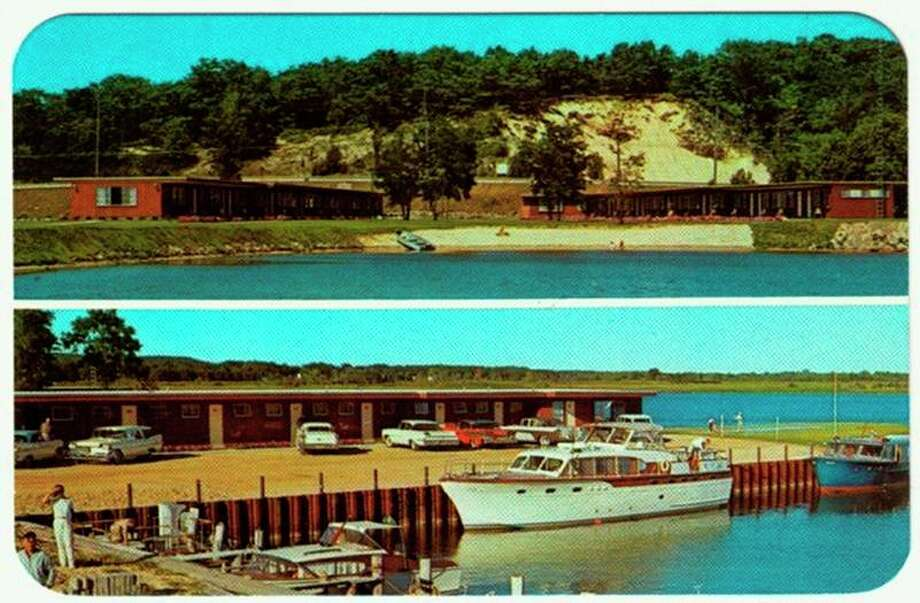 The Moonlite Motel was located on Manistee Lake near where the S.S. City of Milwaukee ship is located today.