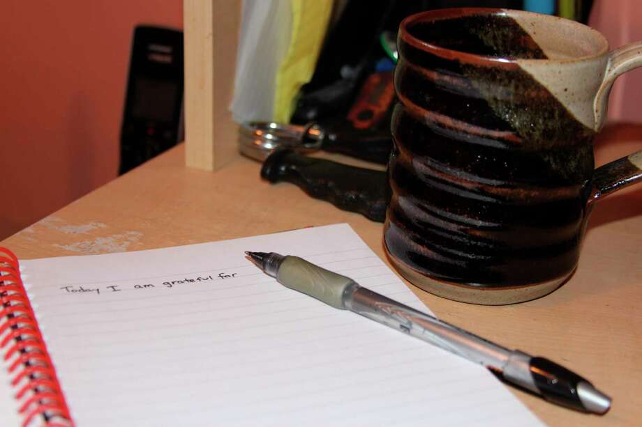 Writing in a journal is another way to help de-stress during the stay at home order. (Colin Merry/Pioneer News Network)